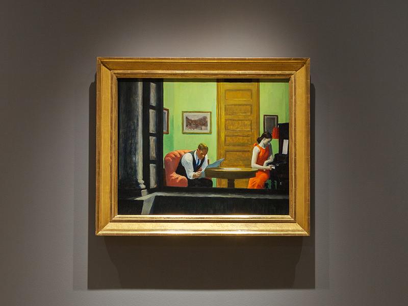 """Room in New York"" by Edward Hopper"