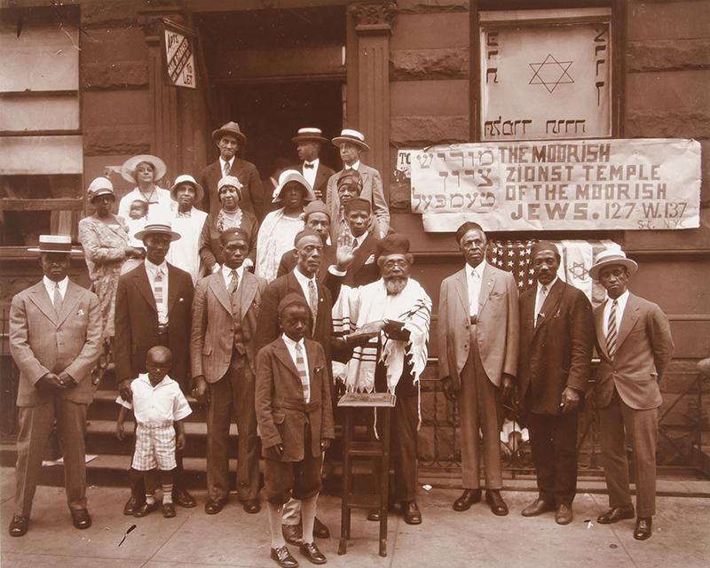 """Black Jews, Harlem,"" a photograph by James VanDerZee"