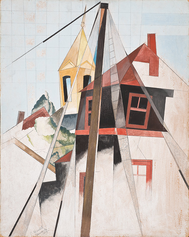 Backdrop of East Lynne by Charles Demuth