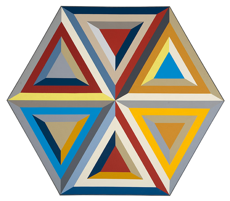 Untitled (Hexagonal Composition) by Alvin Loving