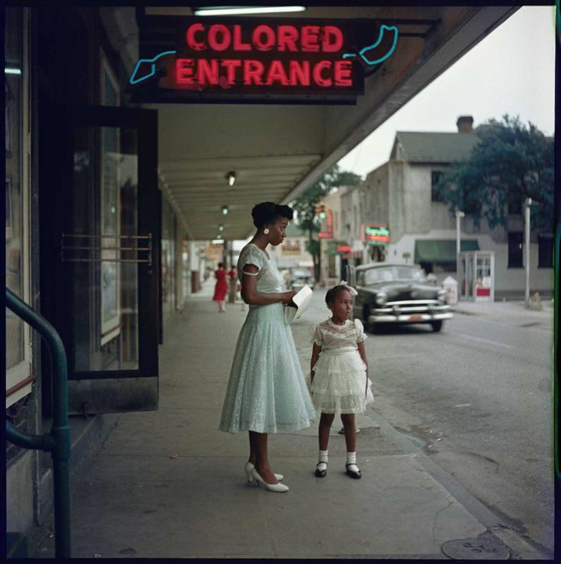 "Gordon Parks photograph: ""Department Store, Mobile, Alabama, 1956"""