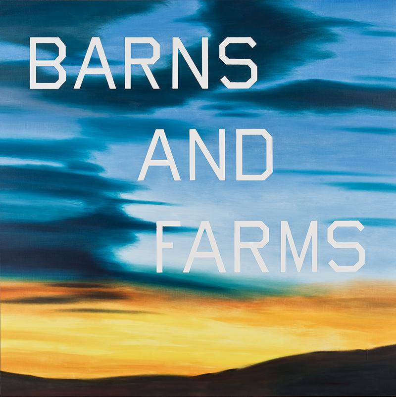 Ruscha, Barns and Farms