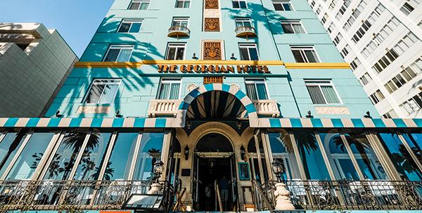 The Georgian Hotel, Santa Monica, California.
